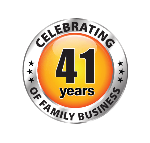 celebrating 40 years of family business